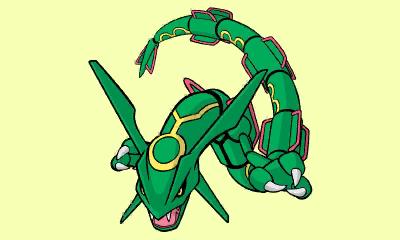 Pokémon Art Academy Rayquaza Zeichenvorlage Erschienen Pokémon