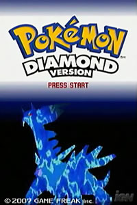 Bild: Titelbild der US-Version von Pokémon Diamond