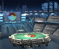 "Bild vom ""Pokémon Stadium 2"" in Super Smash Bros. Brawl"