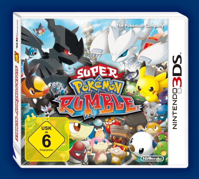 Go Vacation Wii U: Bericht: Super Pokémon Rumble Auf Deutsch Im