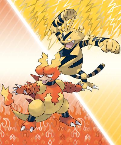 Kommende verteilung von elektek und magmar pok mon news - Pokemon elektek ...